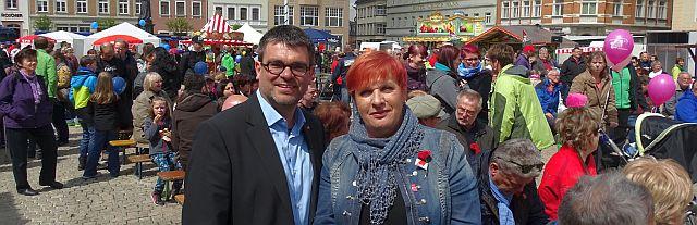 Uschi Kruse und Ralf Hron