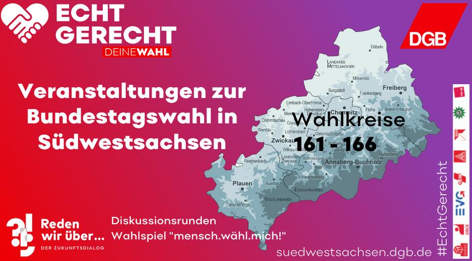 Bundestagswahl in Südwestsachsen