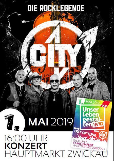 1. Mai Plakat Zwickau II