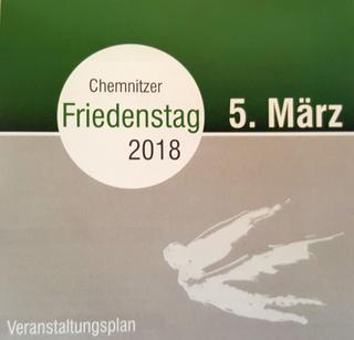 Programm Friedenstag Chemnitz 2018