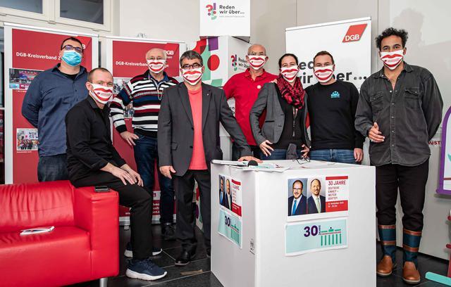 Chemnitz beim Livestream zu 30 Jahre Einheit
