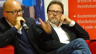 Frank Müller-Rosentritt (FDP) und Frank Heinrich (CDU)