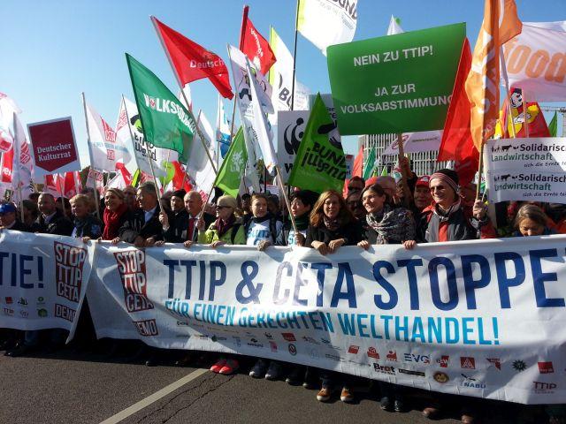 TTIP DSemo in Berlin 2015.