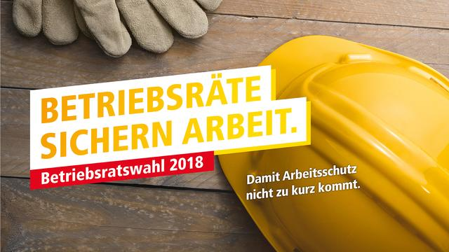 DGB Betriebsratswahl Kampagne 2018