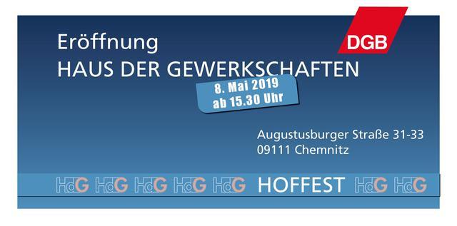 Eröffnung Hoffest HdG Chemnitz 8.5.2019