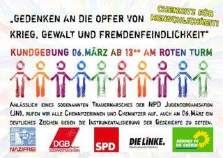Aufruf 6.3. Chemnitz