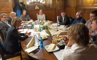 Treffen mit OB Ludwig Chemnitz 3.
