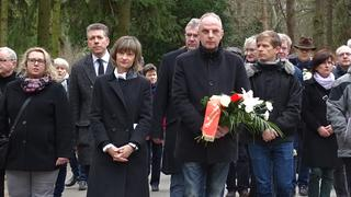 Gedenken am Städtischen Friedhof