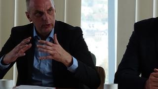 Detlef Müller (SPD) im Gespräch
