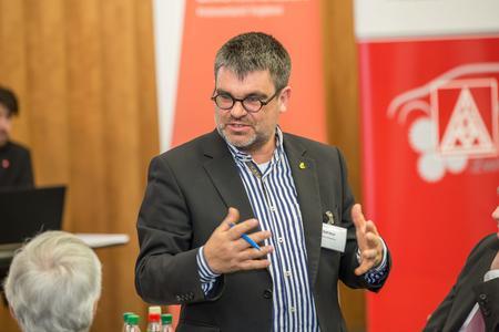 DGB Regionsgeschäftsführer Ralf Hron