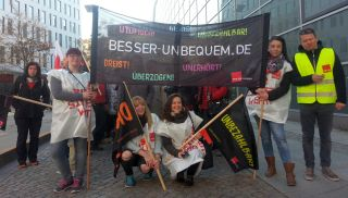 Warnstreik ver.di in Chemnitz am 21.4.2016