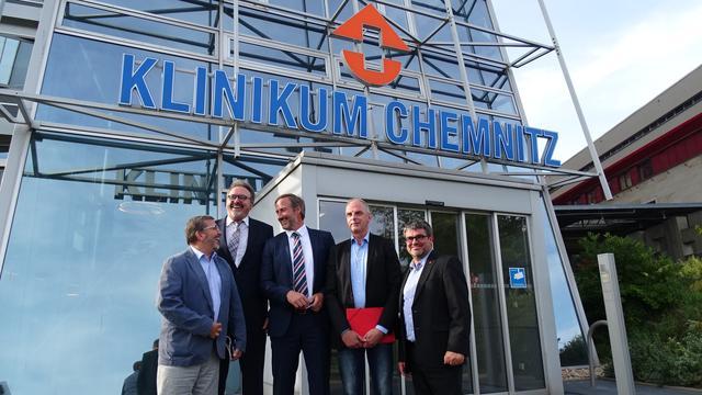 Klinikum Chemnitz, 30.8.2017.