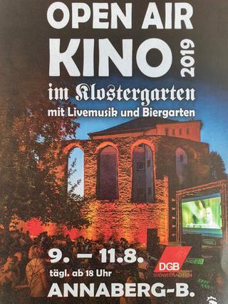 Einladung 10.8. DGB Erzgebirge im Klostergarten Annaberg-Buchholz