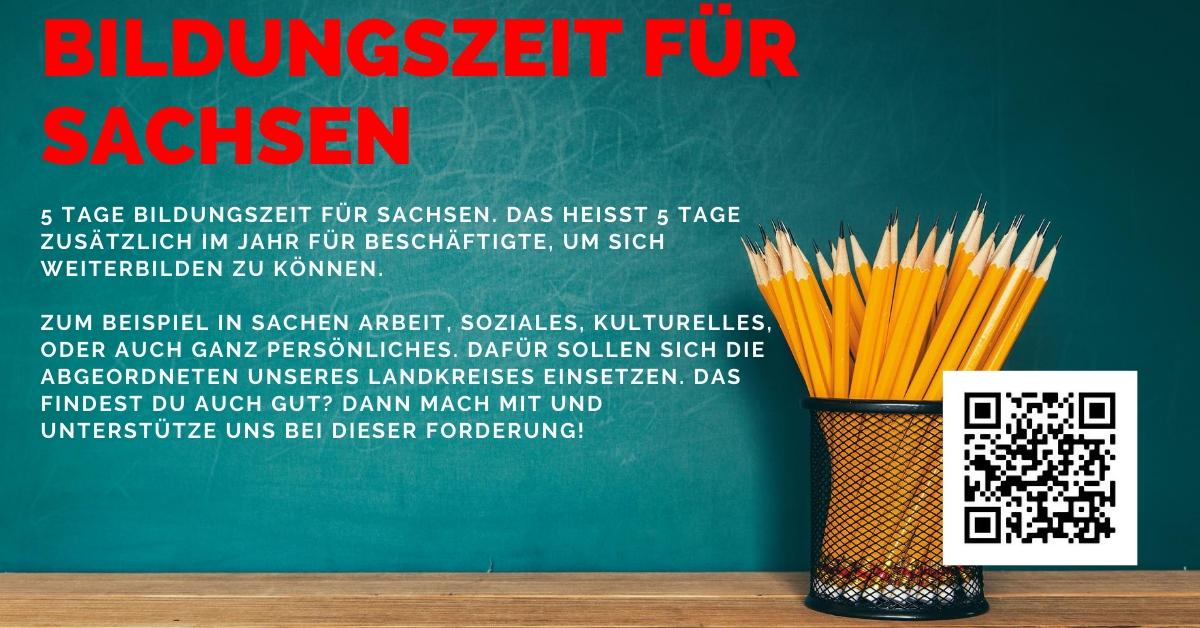 Bildungszeit für Sachsen