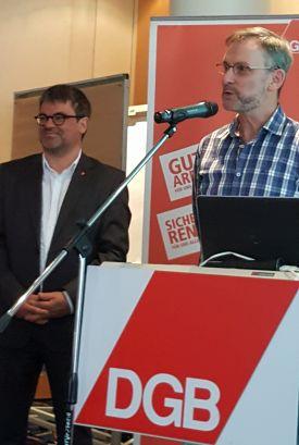 Hartmut Scholz, Betriebsratsvorsitzende Mercure Chemnitz.