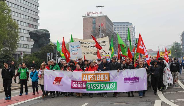 Demo 1.5.2019  Aufstehen gegen Rassimsus