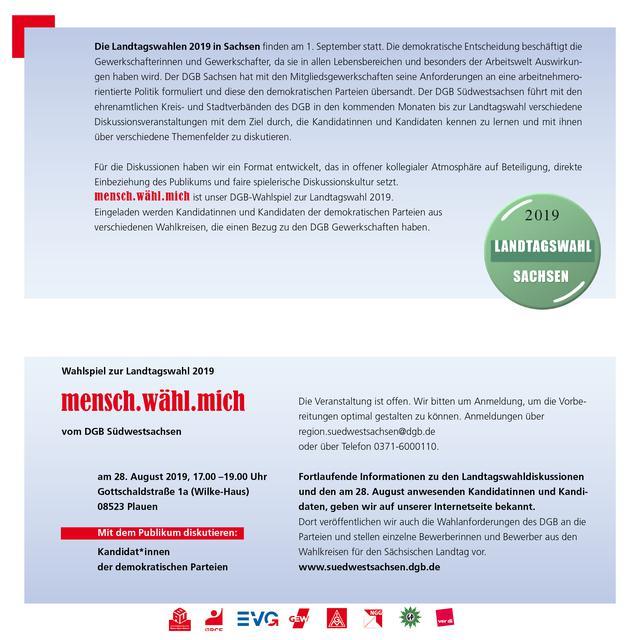 Einladung 28.8. DGB Wahlforum Innenseite