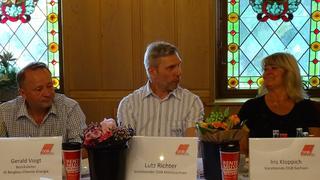 Gerald Voigt, Lutz Richter, Iris Kloppich