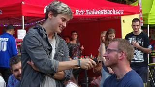 Political Poetry Slam der DGB Jugend Chemnitz.