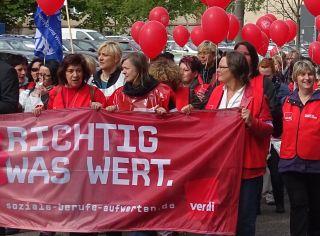 Streikdemo Chemnitz