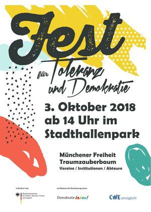 Fest für Demokratie und Toleranz, 3.10.2018 Chemnitz