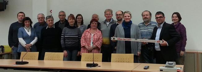 DGB und DIE Linke Chemnitz auf einem Gruppenbild