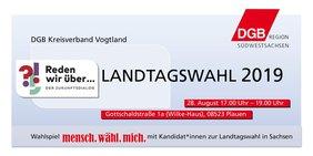 Einladung DGB 28.8. Wahlspiel Plauen