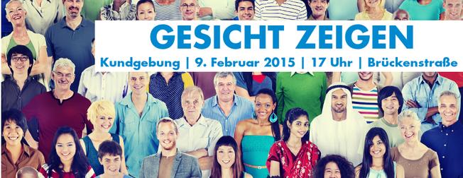 Gesicht zeigen für Chemnitz