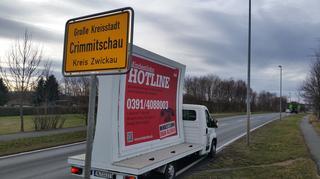 Mindestlohn LKW in Crimmitschau