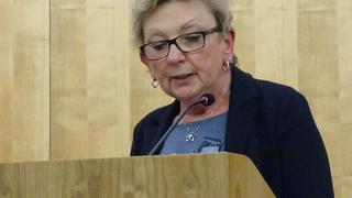 Dagmar Baumgärtel, Vorsitzende DGB Kreisverband Vogtland