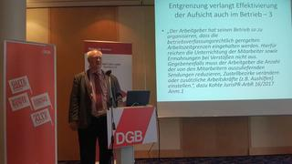 Prof. Dr. Wolfhard Kohte, Martin-Luther-Universität Halle-Wittenberg.