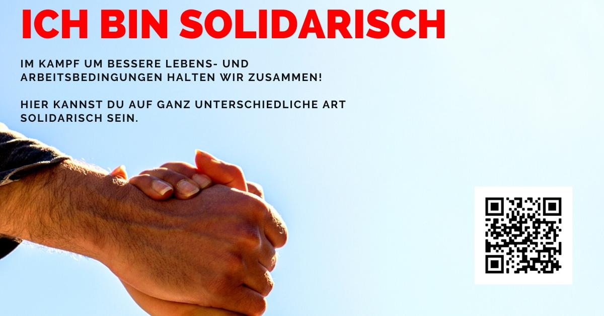 Ich bin solidarisch