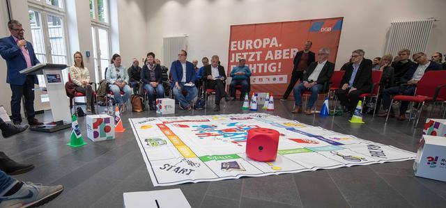 EU Wahlspiel mensch.wähl.mich am 8.5.2019