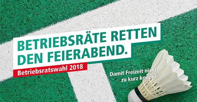 Betriebsratswahl Kampagne DGB BR Retten den Feierabend