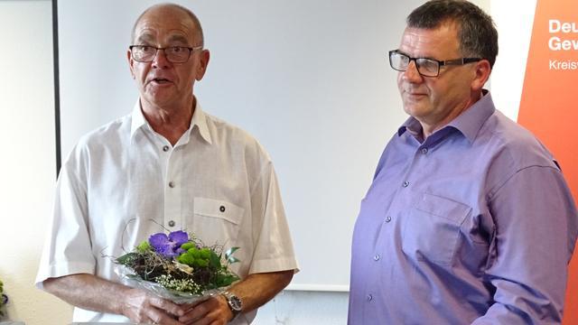 Michael Willnecker und Klaus Tischendorf am 29.5.2017.