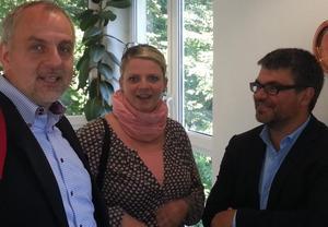 Rico Gebhardt, Susanne Schaper, Ralf Hron