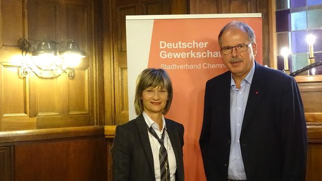 Barbara Ludwig und Stefan Körzell