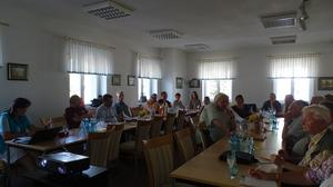 TeilnehmerInnen der Diskussion