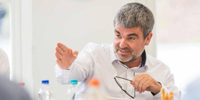 Ralf Hron, Geschäftsführer DGB Südwestsachsen