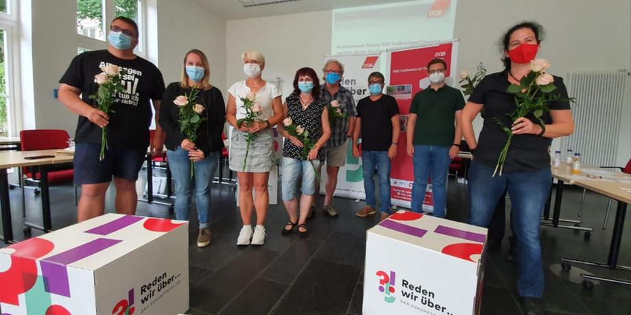 Der neue DGB-Stadtverband Chemnitz