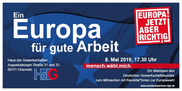 mensch.wähl.mich. DGB EU Wahlspiel