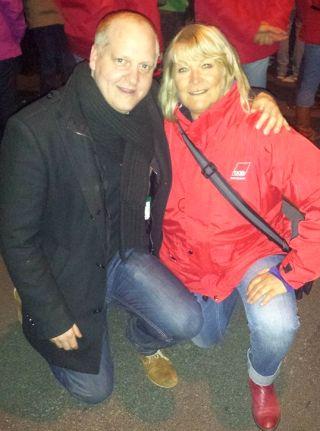 Henning Homann und Iris Kloppich