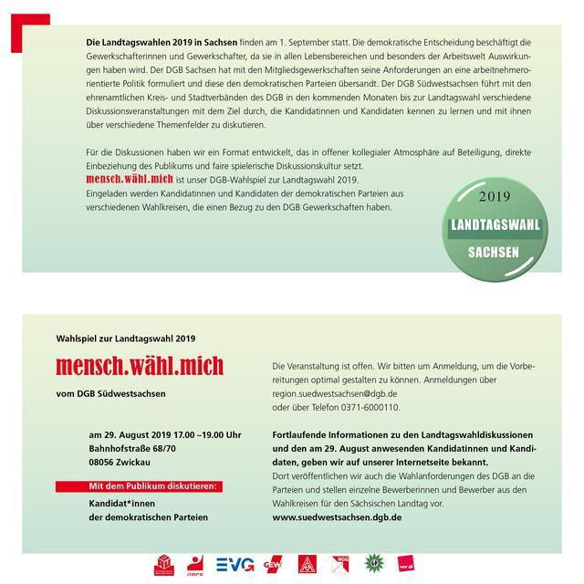 Einladung 29.8. DGB Wahlforum Innenseite