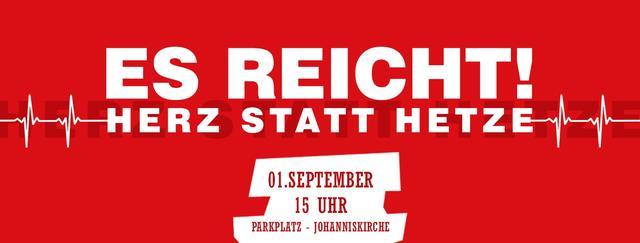 Herz statt Hetze, Chemnitz 1.9.2018