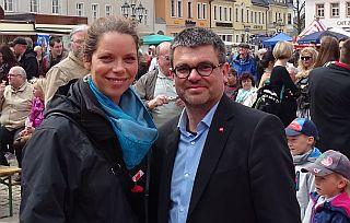 Antje Feiks und Ralf Hron