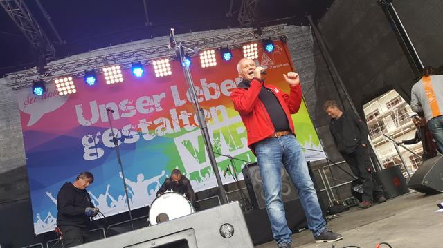 Stefan Kademann am 1. Mai 2017 in Zwickau