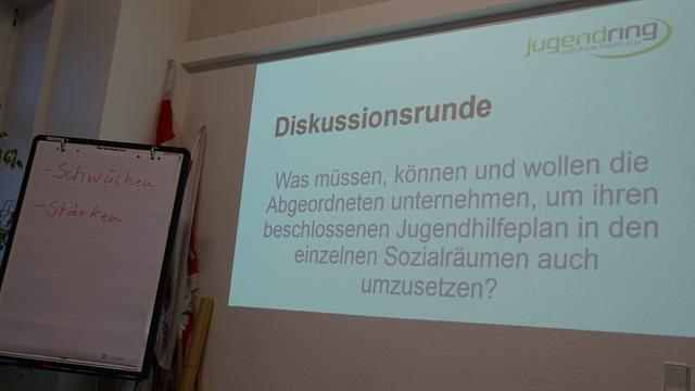 Angeregte Diskussionen der TeilnehmerInnen