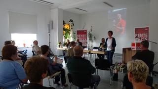Vorsitzende Sabine Zimmermann