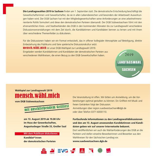 Einladung 13.8. DGB Wahlforum Innenseite