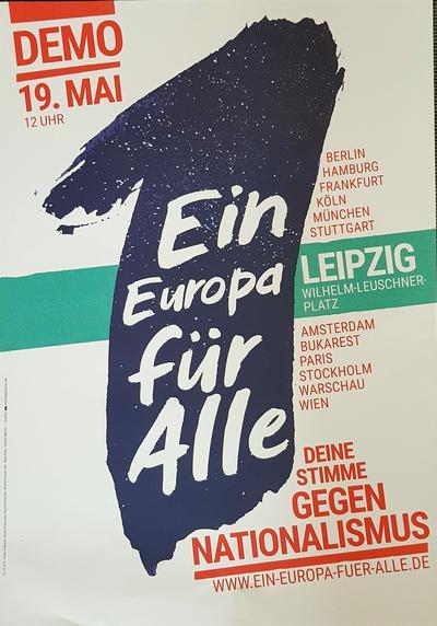 Ein Europa für Alle - Leipzig 19. Mai 12.00 Uhr
